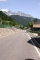 27-Strasse mit Dolomitenpanorama